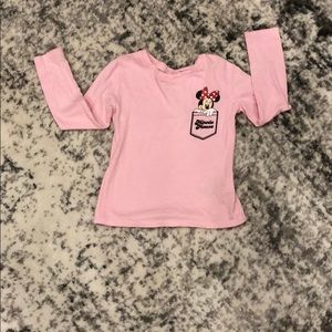Minnie Mouse Old Navy long sleeve
